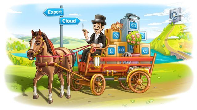 Telegram sohbet dışa aktarma