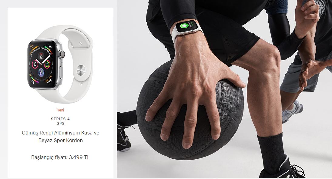 Apple Watch Series 4 Türkiye fiyatı!