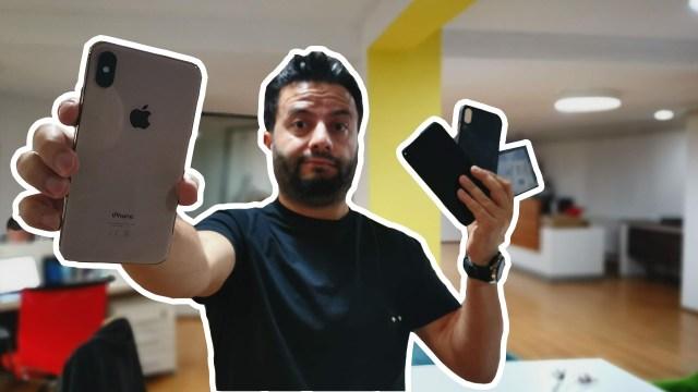 iPhone XS Max telefon kılıfı