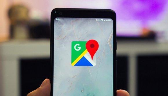 Google haritalar üzerinden mesajlaşma
