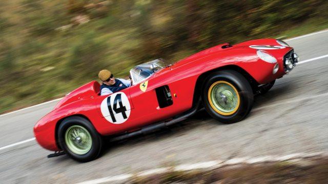 1956 Ferrari 290 MM 22 milyon dolara satıldı! sdn 2