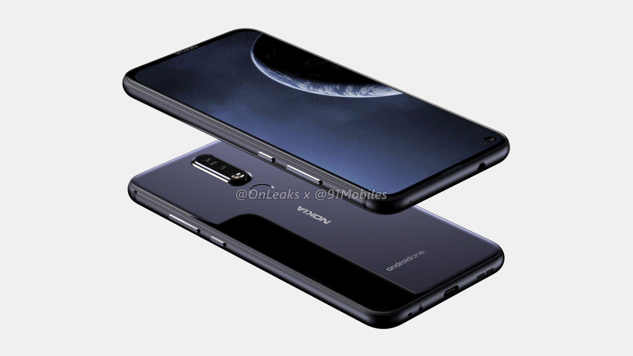 ekrana gömülü kamera nokia 6.2 özellikleri