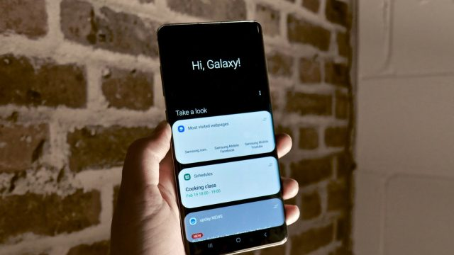 Galaxy S10 Bixby tuşu