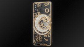 Dudak uçuklatan fiyatıyla özel tasarım Caviar iPhone Xs serisi!