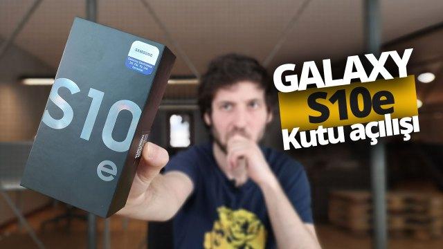 Galaxy S10e kutu açılışı