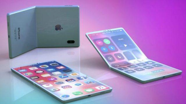 iphone, katlanabilir iphone, katlanabilir ekran