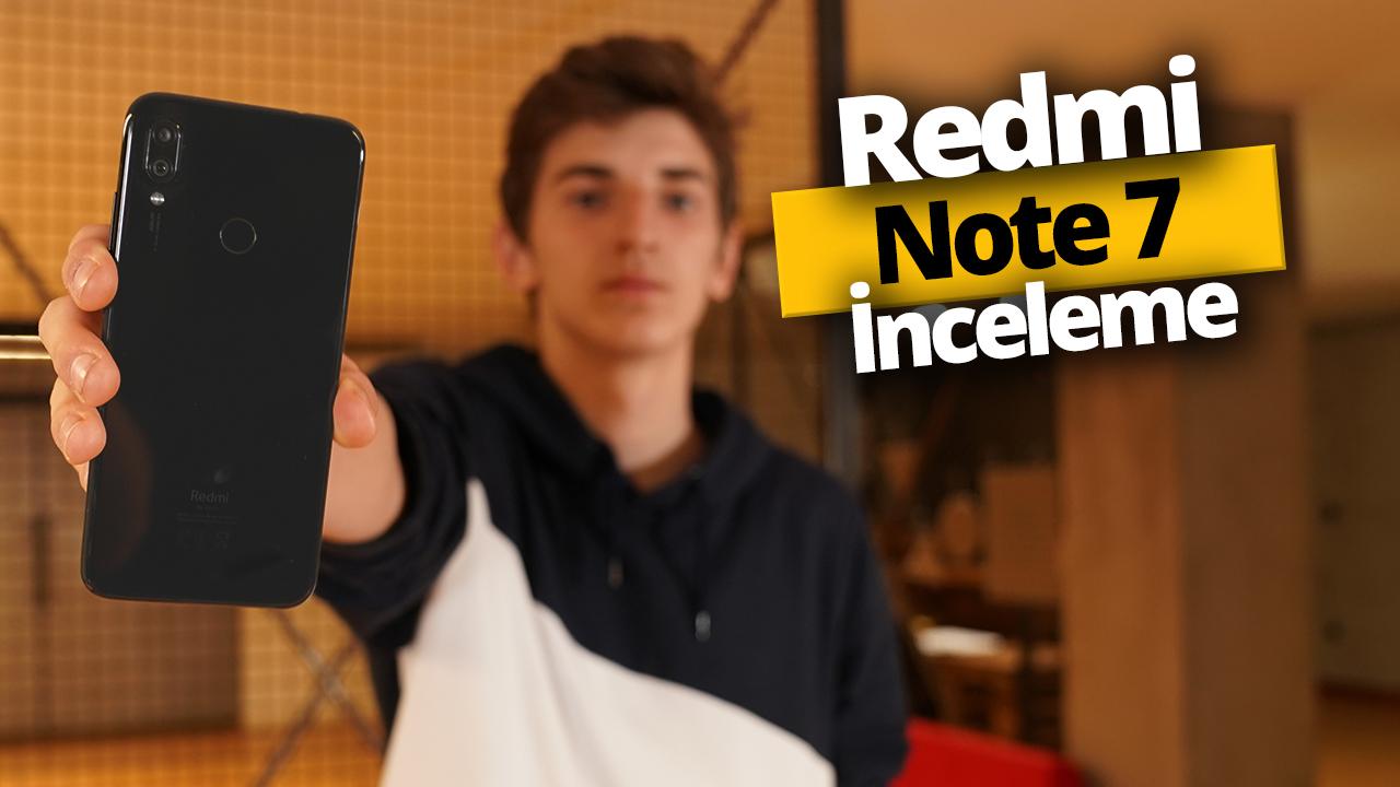 Xiaomi Redmi Note 7 inceleme - Redmi Note 7 özellikleri