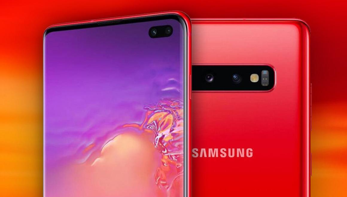 Kırmızı Galaxy S10 fiyatı ve çıkış tarihi belli oldu
