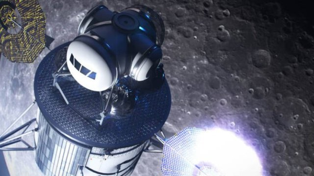 NASA details the Moon project