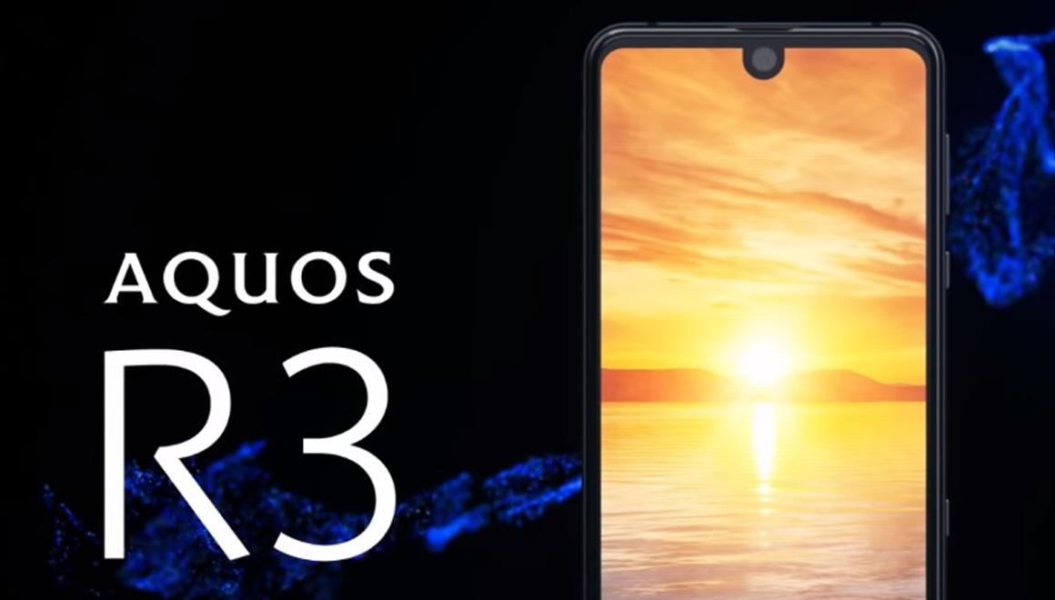 Çift çentikli telefon: Sharp Aquos R3 tanıtıldı!