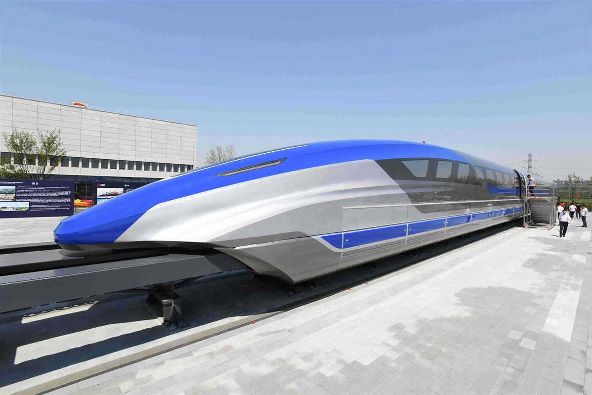 yüksek hızlı tren maglev treni