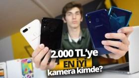 2.000 TL'ye en iyi kamera kimde? (Video)