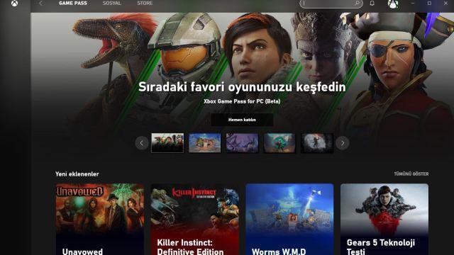 Xbox PC Beta uygulaması ile oyun dönemi başladı