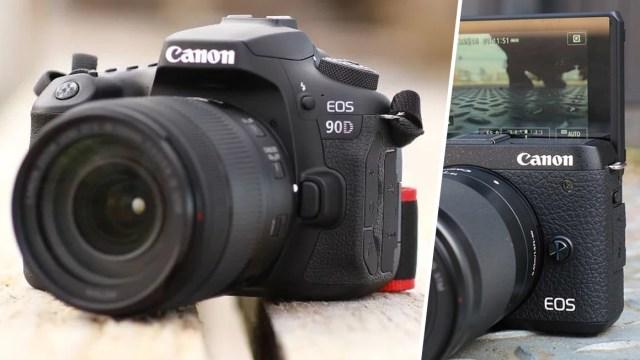 Canon EOS 90D veM6 Mark II özellikleri