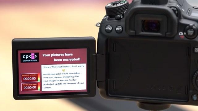 Fotoğraf makineleri fidye tehlikesi ile karşı karşıya!