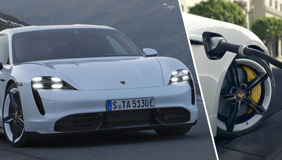 Porsche Taycan özellikleri: 450 km menzil