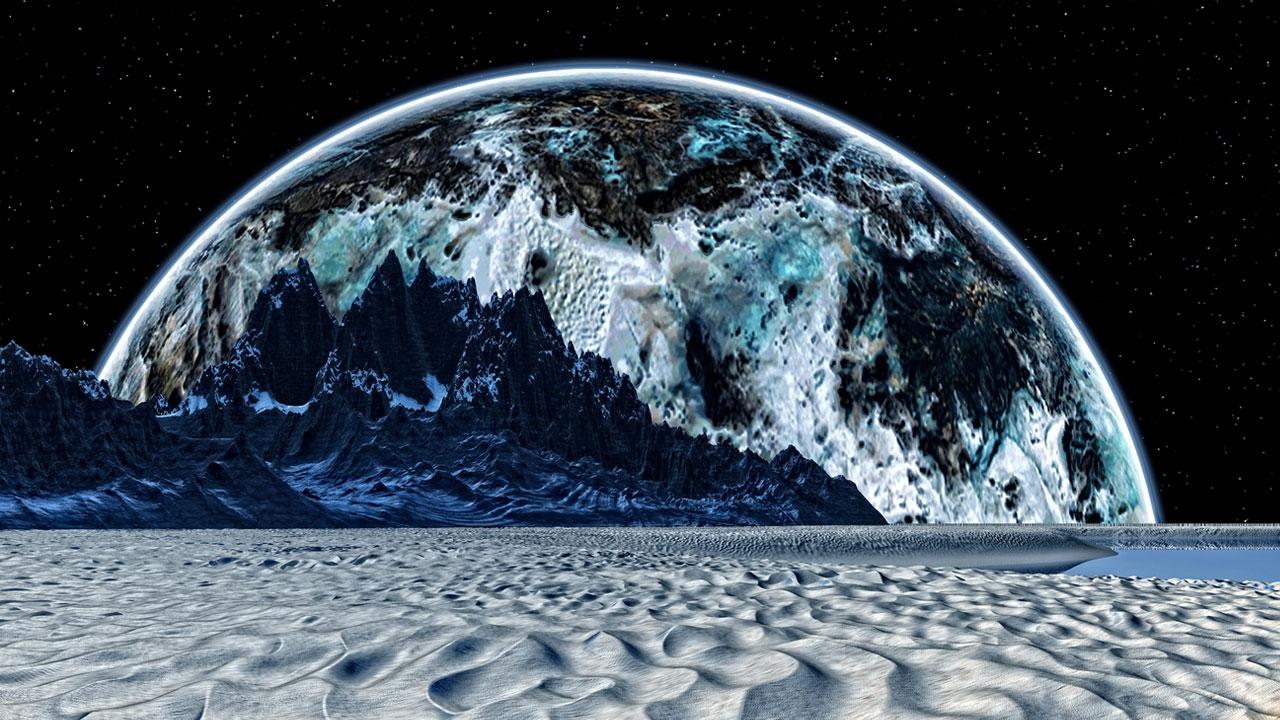 NASA Satürn Buzlu ay