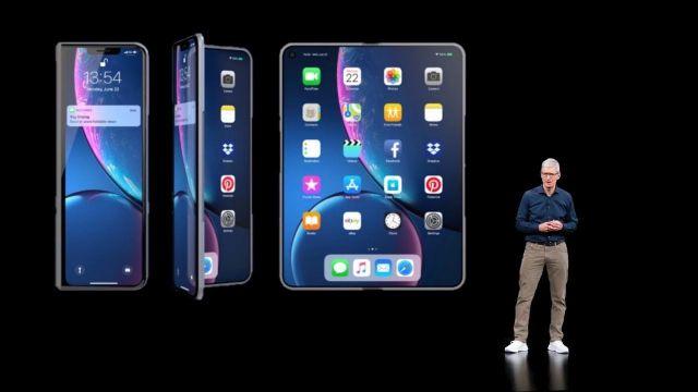 Apple katlanabilir iPhone konsepti dikkat çekti! - ShiftDelete.Net