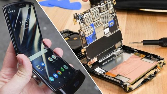 Motorola RAZR parçalarına ayrıldı