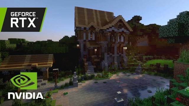 Minecraft ışın izleme desteği