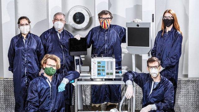 NASA, corona virüs tedavisi için solunum cihazı üretti