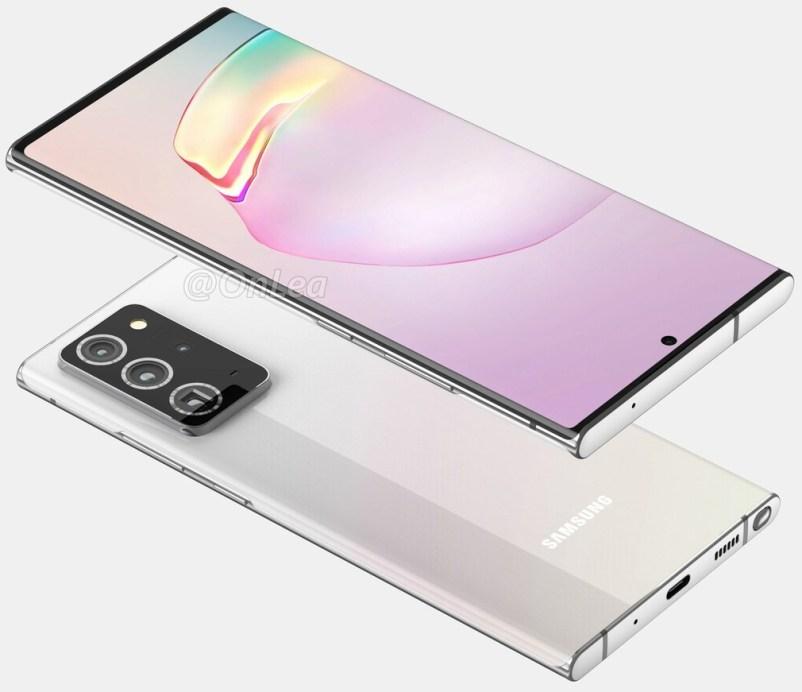 Samsung Galaxy Note 20 batarya kapasitesi