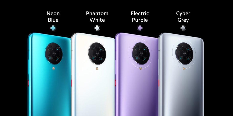 POCO F2 Pro renk seçenekleri