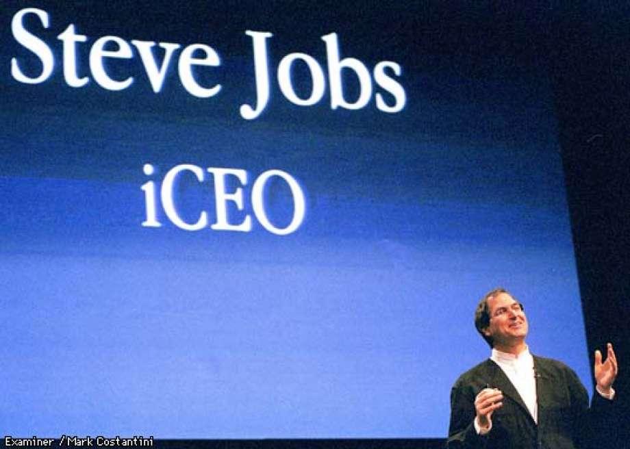 Geri dönüşünün ardından yaptığı ilk Apple etkinliğinde.