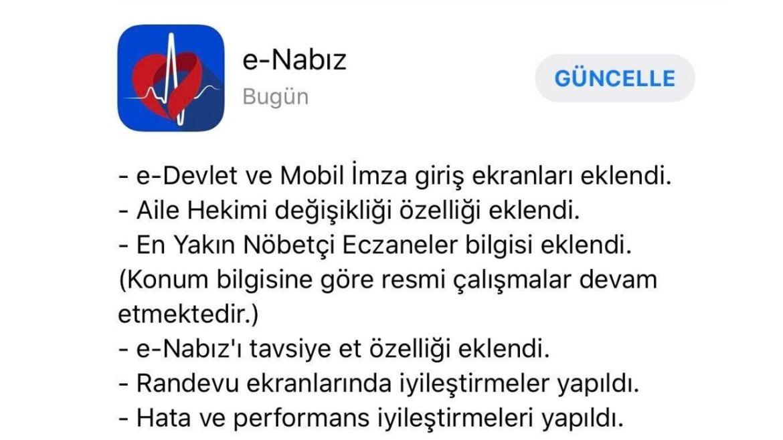 e-Nabız yeni guncelleme-02