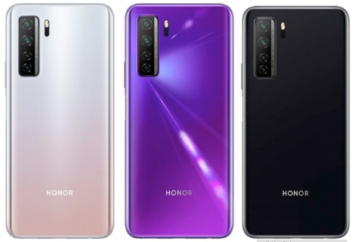 Honor 30S Avrupa pazarında Huawei P40 Lite 5G olarak satılacak