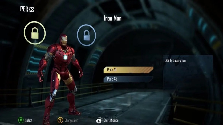 iptal edilen ilk avengers oyunu görüntüleri