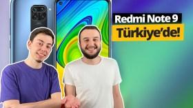 Redmi Note 9 Türkiye'ye geldi!