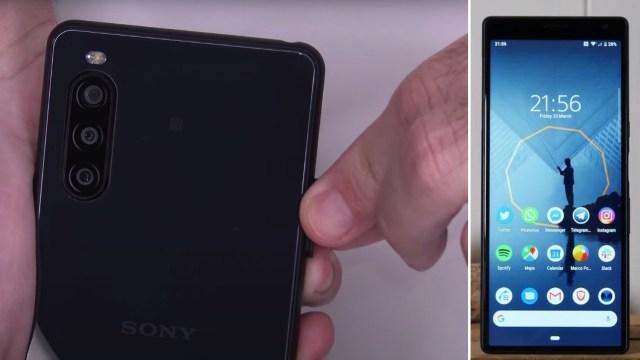 Sony Xperia 10 II parçalarına