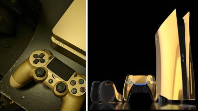 PlayStation 5, 24 ayar altınla kaplandı! İşte fiyatı