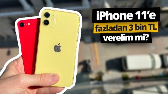 iPhone SE vs iPhone 11 – Atom karınca affeder mi?