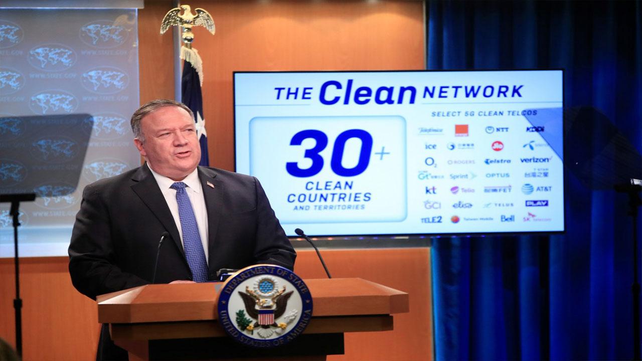 ABD'den Çin'e karşı Temiz Ağ hamlesi geliyor