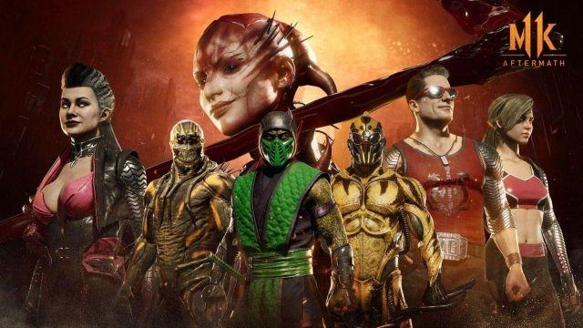 Mortal Kombat 11 için karakter görünümleri