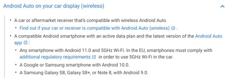 Android Auto kablosuz bağlanma özelliği tüm cihazlara geliyor