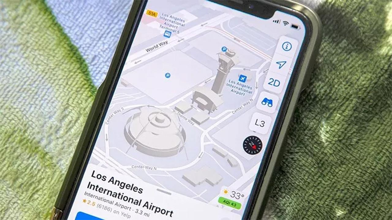 Apple Haritalar daha detaylı olacak! Yeni özellik 1