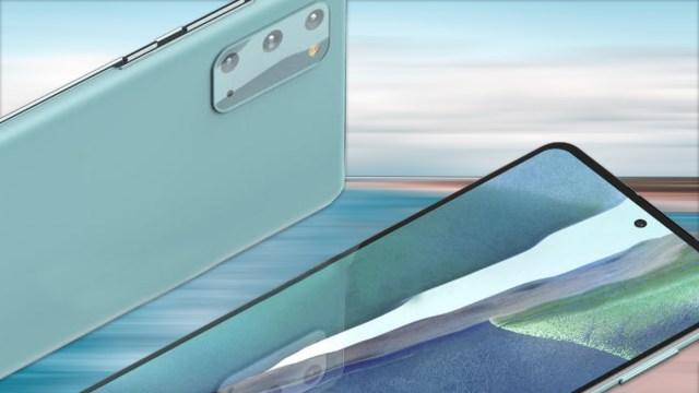 Galaxy S20 Fan Edition tasarımı sızdırıldı