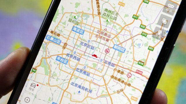 Huawei Baidu Haritalar