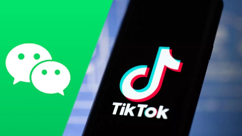 WeChat ve TikTok