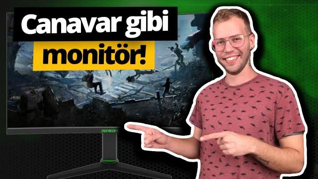 Monster Aryond A27 V1.1 Gaming Monitör inceleme!