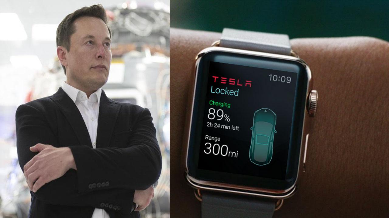 Elon Musk'tan değişik Tesla Watch yorumu 1
