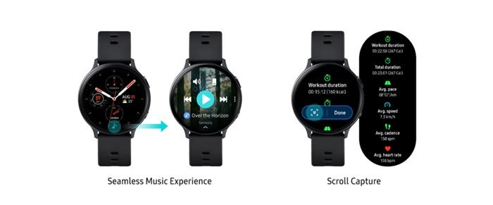 Galaxy Watch Active 2 VO2 Max güncellemesi