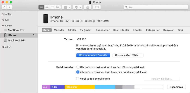 iOS 15 temiz kurulum