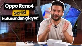 Oppo Reno4 serisi kutusundan çıkıyor!