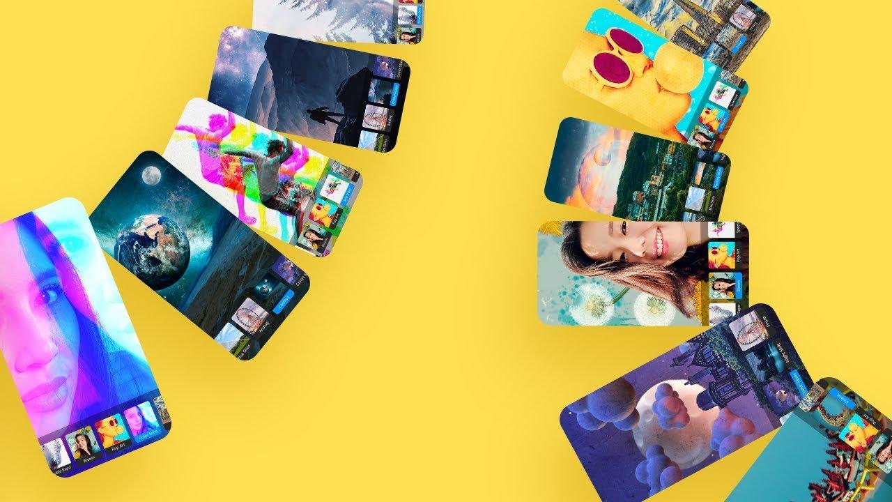 Adobe Photoshop Camera, Android için güncellendi 1