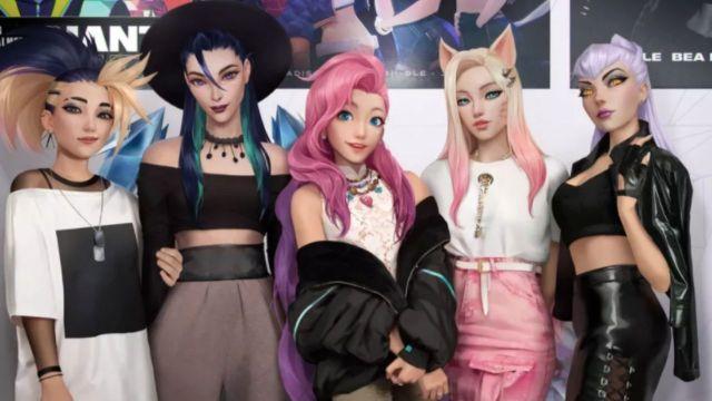 League of Legends sanal K-pop grubu-00