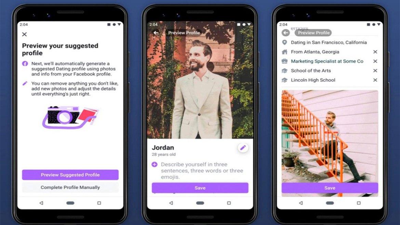 Facebook Dating uzun bekleyişin ardından Avrupa'da